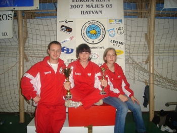 Puchar Europy Juniorów Taekwon-do ITF-V, Hatvan, Węgry, 5 Maja 2007