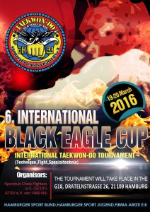 Offizielle Poster 6.Int.Black Eagle Cup