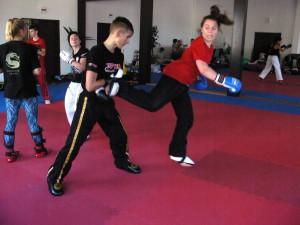 Scena z treningów grupy starszej.