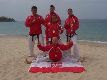 Mistrzostwa Świata Global Taekwon-do Federation, Sardynia, 17-23 Maja 2006